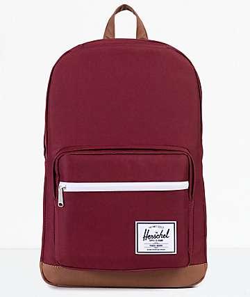 Herschel Supply Co. Pop Quiz 22L mochila en color vino
