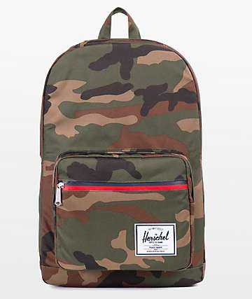 Herschel Supply Co. Pop Quiz Woodland Camo 22L Backpack