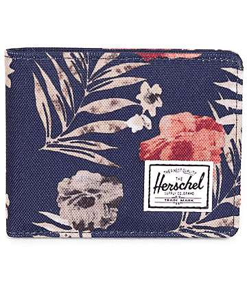 Herschel Supply Co. Roy Peacoat Floria Bifold Wallet