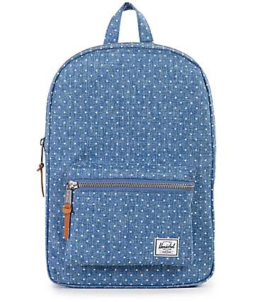 Herschel Supply Co. Settlement Crosshatch & Polka Dot 17L Backpack