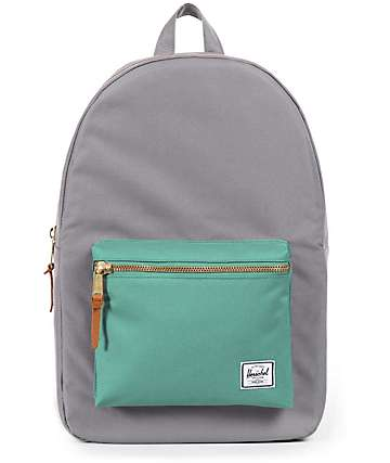 Herschel Supply Co. Settlement Grey & Seafoam 17L Backpack