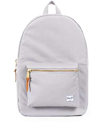 Herschel Supply Co. Settlement Light Grey & Lunar Rock 17L Backpack