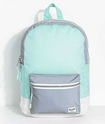 Herschel Supply Co. Settlement Mid 17L mochila reflexiva en verde