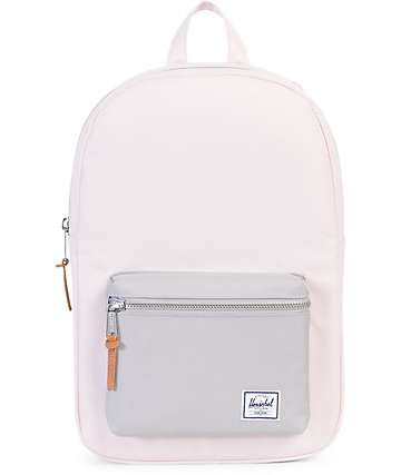 Herschel Supply Co. Settlement Mid Cloud Pink & Grey 17L Backpack