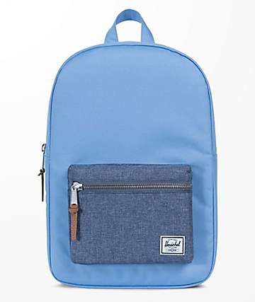 Herschel Supply Co. Settlement Mid Hydrangea Chambray 17L Backpack