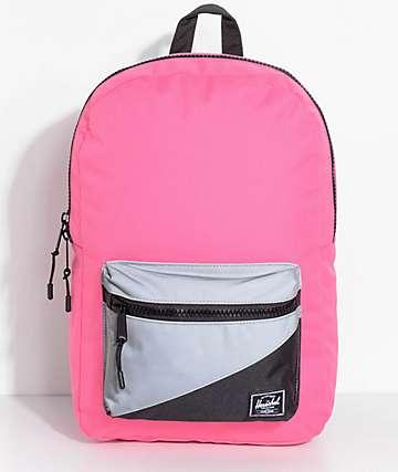 Herschel Supply Co. Settlement Neon Pink Reflective 17L Backpack