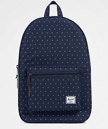 Herschel Supply Co. Settlement Peacoat Gridlock 23L Backpack