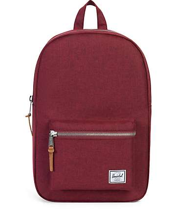 Herschel Supply Co. Settlement Wine Tasting Crosshatch 17L Backpack