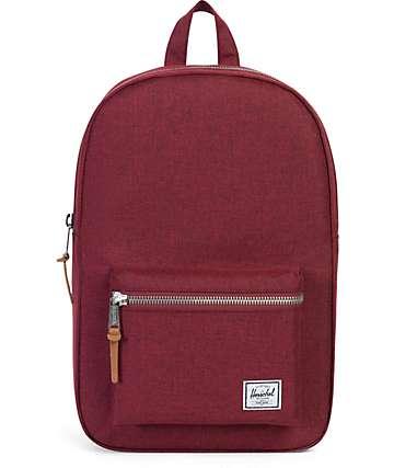 Herschel Supply Co. Settlement Winetasting burgundy 17L Backpack