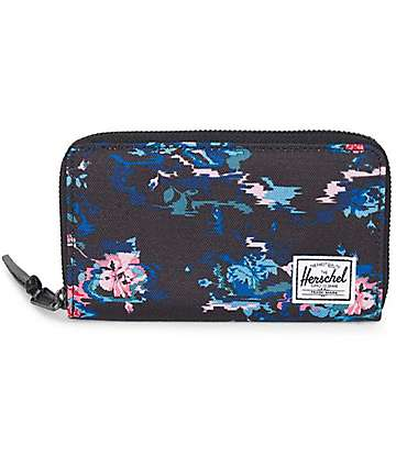 Herschel Supply Co. Thomas Floral Blur Wallet