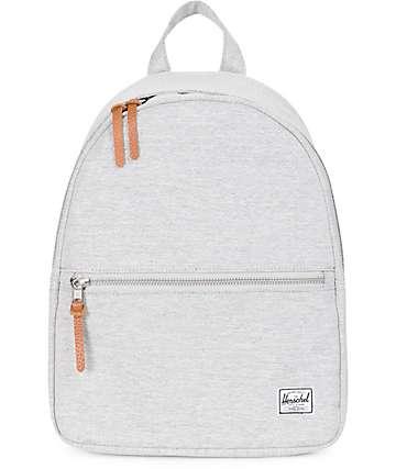 Herschel Supply Co. Town Mini Light Grey Crosshatch Backpack