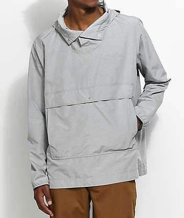 Herschel Supply Co. Voyage Light Grey Anorak Jacket