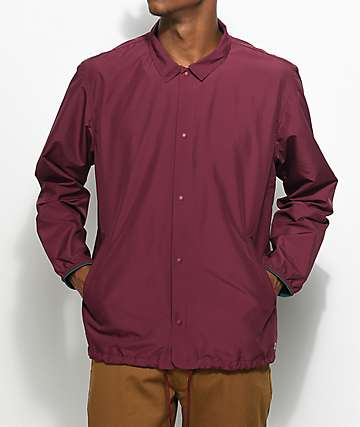 Herschel Supply Co. Voyage Windsor Wine Coaches Jacket