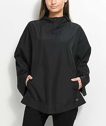 Herschel Supply Co. Voyage chaqueta poncho en negro