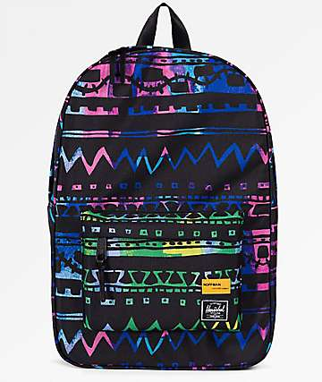 Herschel Supply Co. Winlaw Zig Zag Blue & Green 17L Backpack