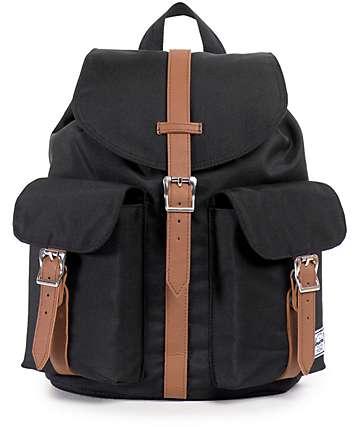 Herschel Supply Dawson Black 10.75L Rucksack Backpack