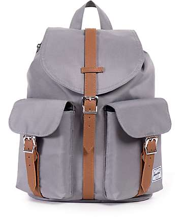 Herschel Supply Dawson Grey 13L Rucksack Backpack