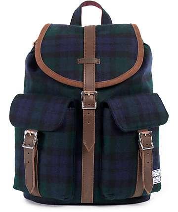 Herschel Supply Dawson Watch Plaid 10.75L Backpack
