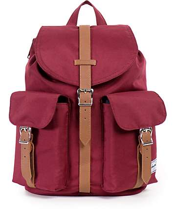 Herschel Supply Dawson Windsor Wine 10.75L Rucksack Backpack