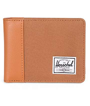 Herschel Supply Edward Carmel & Tan Bifold Wallet