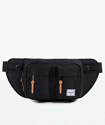 Herschel Supply Eighteen Black Fanny Pack