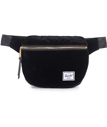 Herschel Supply Fifteen Black Velvet 1.25L Fanny Pack