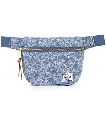 Herschel Supply Fifteen Floral Chambray 1.25L Fanny Pack