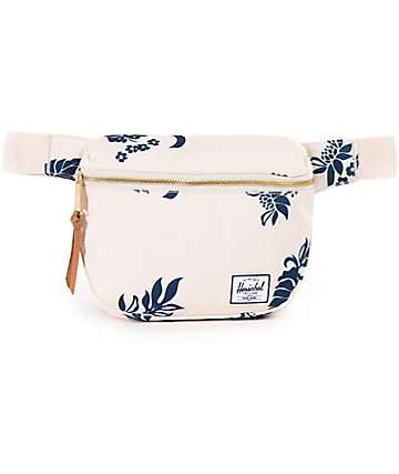 Herschel Supply Fifteen Tropical Floral Canvas 2L Fanny Pack
