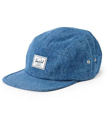 Herschel Supply Glendale Classic Denim 5 Panel Hat