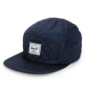 Herschel Supply Glendale Classic Quilted 5 Panel Hat