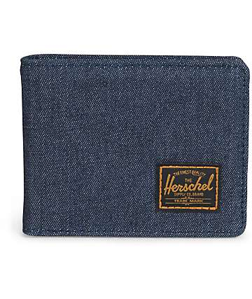 Herschel Supply Hank Dark Denim Bifold Wallet