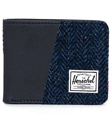 Herschel Supply Hank Harris Tweed Bifold Wallet