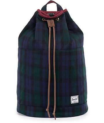 Herschel Supply Hanson Watch Plaid 17L Backpack