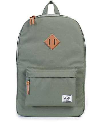 Herschel Supply Heritage 21.5L mochila en verde