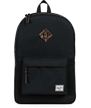 Herschel Supply Heritage Black Tortoise 14.5L Backpack