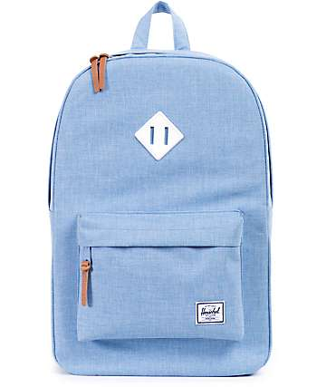 Herschel Supply Heritage Chambray Crosshatch 21L Backpack