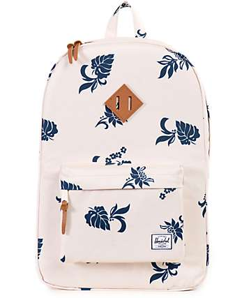 Herschel Supply Heritage Mid Tropical Floral Print 14.5L Backpack