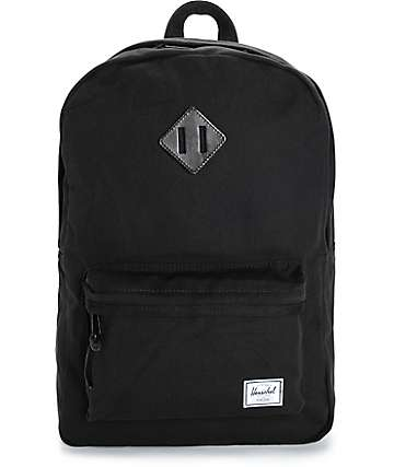 Herschel Supply Heritage Select Black 20L Backpack