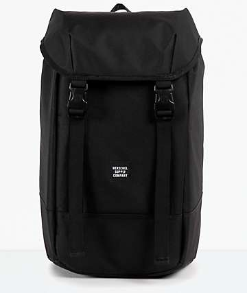 Herschel Supply Iona mochila negra 24L