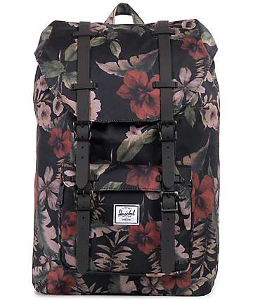 Herschel Supply Little America Black Hawaiian Mid 17L Backpack