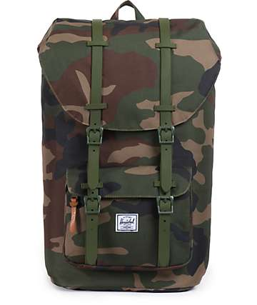 Herschel Supply Little America Camo Weather 24L Backpack