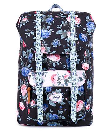 Herschel Supply Little America Floral 14.5L Backpack