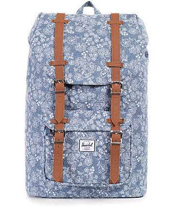Herschel Supply Little America Floral Chambray 17L Backpack