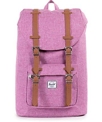 Herschel Supply Little America Fuchsia Crosshatch 16.5L Backpack