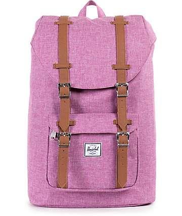 Herschel Supply Little America Fuchsia Crosshatch 16.5L Backpack