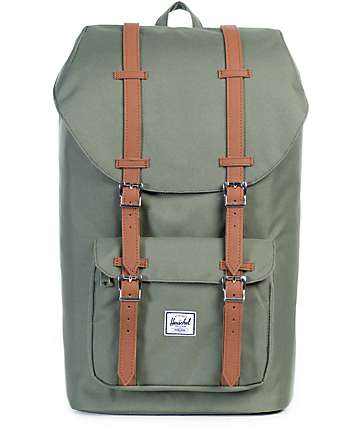 Herschel Supply Little America Lichen Green 25L Backpack