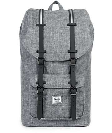 Herschel Supply Little America Raven Crosshatch 25L Backpack