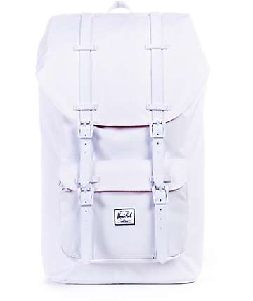 Herschel Supply Little America White 23.5L Backpack