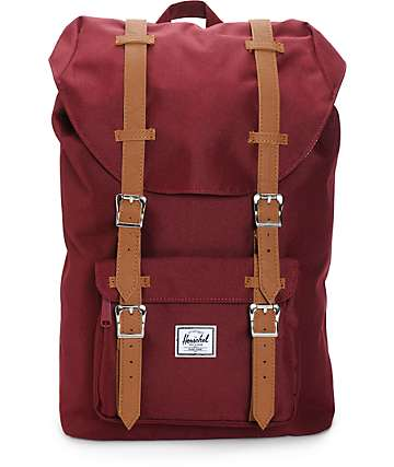 Herschel Supply Little America Windsor Wine 16.5L Backpack