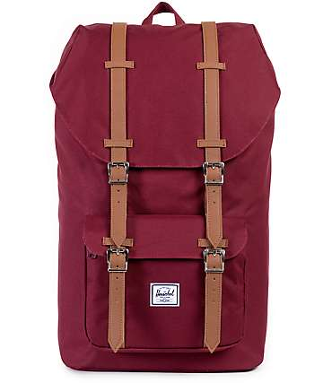 Herschel Supply Little America Windsor Wine 23.5L Backpack